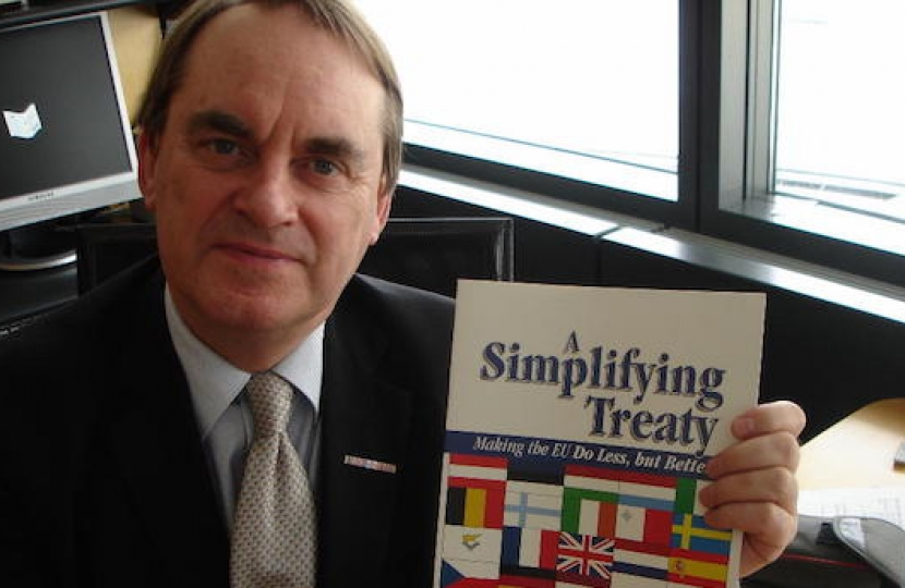 kirkhope with treaty